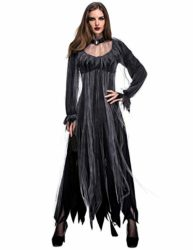 NonEcho-Women-Scary-Zombie-Bloody-Mary-Costume-Halloween-Horror-Ghost-Bride-Dress-0-4