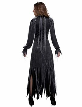 NonEcho-Women-Scary-Zombie-Bloody-Mary-Costume-Halloween-Horror-Ghost-Bride-Dress-0-5