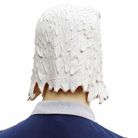 Novelty-Funny-Halloween-Cosplay-Party-Costume-Latex-Animal-Head-MaskFlying-Eagle-White-0-3