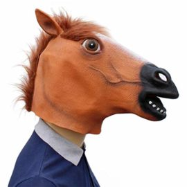 Novelty-Funny-Halloween-Cosplay-Party-Costume-Latex-Animal-Head-MaskHorse-Head-0-4