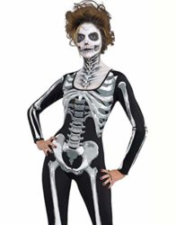 Onancehim-Womens-3D-Print-Skull-Skeleton-Bodysuits-Halloween-Costume-Cosplay-Stretch-Skinny-Jumpsuit-Romper-0-0