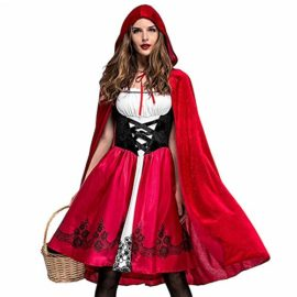 PASATO-Women-Halloween-Costume-Cosplay-Ball-Party-Hooded-Bandage-Shawl-Dress-Suit-Skirts-0-1
