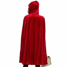 PASATO-Women-Halloween-Costume-Cosplay-Ball-Party-Hooded-Bandage-Shawl-Dress-Suit-Skirts-0-2