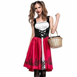 PASATO-Women-Halloween-Costume-Cosplay-Ball-Party-Hooded-Bandage-Shawl-Dress-Suit-Skirts-0