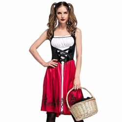 PASATO-Women-Halloween-Costume-Cosplay-Ball-Party-Hooded-Bandage-Shawl-Dress-Suit-Skirts-0-4