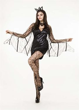 QOCAOFIG-Womens-Vampire-Bat-Halloween-Costume-Dress-UpChristmas-Theme-Party-Costume-0-0