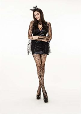 QOCAOFIG-Womens-Vampire-Bat-Halloween-Costume-Dress-UpChristmas-Theme-Party-Costume-0-2