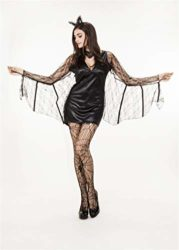 QOCAOFIG-Womens-Vampire-Bat-Halloween-Costume-Dress-UpChristmas-Theme-Party-Costume-0-4