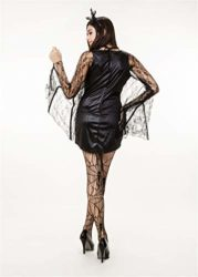 QOCAOFIG-Womens-Vampire-Bat-Halloween-Costume-Dress-UpChristmas-Theme-Party-Costume-0-5