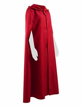 Qi-Pao-Handmaid-Womens-Cosplay-Red-Cape-Halloween-Party-Cloak-with-Hood-Costume-0-2