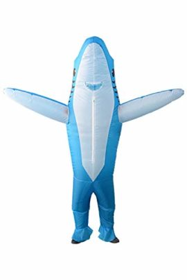 Qshine-Inflatable-Shark-Cosplay-Costume-Halloween-Funny-Cartoon-Animal-Blow-up-Suit-Adult-and-Child-0-3