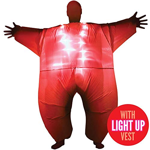 Red-Light-Up-MegaMorph-Inflatable-Costumes-Adult-Halloween-Fancy-Dress-Funny-Scary-0