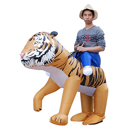 Riding-Tiger-Inflatable-Costume-Halloween-Carnival-Funny-Cosplay-Comic-Con-Jumpsuit-0