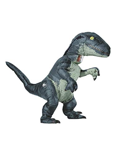 Rubie's Costume Co – Jurassic World: Fallen Kingdom Velociraptor Adult Inflatable Costume With Sound