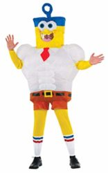 Rubies-Inflatable-Adult-Sponge-Out-of-Water-Costume-SpongeBob-0