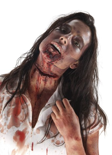 Rubie's The Walking Dead Slit Throat Latex Mask