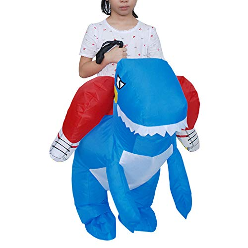 SANHOUT-Inflatable-Rider-Costume-for-ChildHalloween-Cosplay-Dress-up-CostumesBlow-Up-Costume-0-0