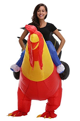 SAVEES Inflatable Fancy Rider Christmas Cosplay Costumes