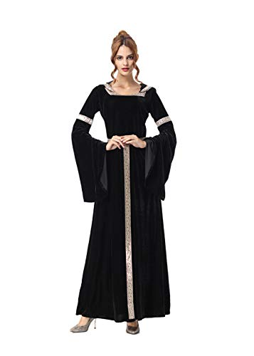 SIAEAMRG Women's Halloween European Court Costume for Cosplay Party