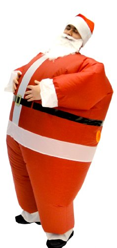Santa-Claus-Inflatable-Chub-Suit-Costume-With-Beard-and-Hat-0-0