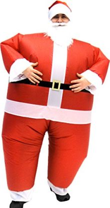 Santa-Claus-Inflatable-Chub-Suit-Costume-With-Beard-and-Hat-0