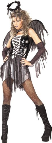 Secret-Wishes-Womens-Enchanting-Creature-Adult-Fallen-Angel-Costume-0