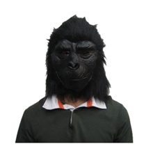 Shybuy-Black-Orangutan-Adult-Latex-Head-Mask-Creepy-Funny-Gorilla-Mask-Animal-Costume-for-Halloween-Party-0