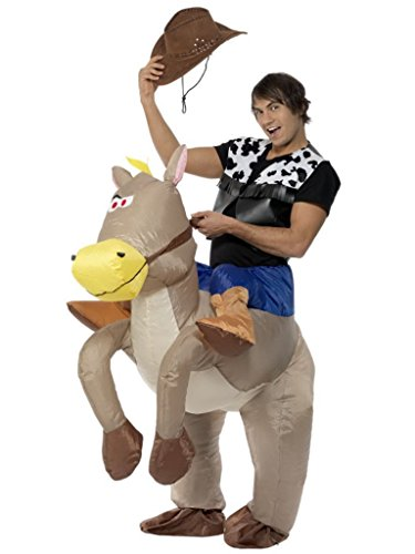 Smiffy's Men's Ride Em Cowboy Inflatable Costume
