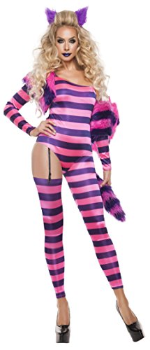 Starline-Womens-Trippy-Kitty-Jumpsuit-Sexy-5-Piece-Costume-Set-0