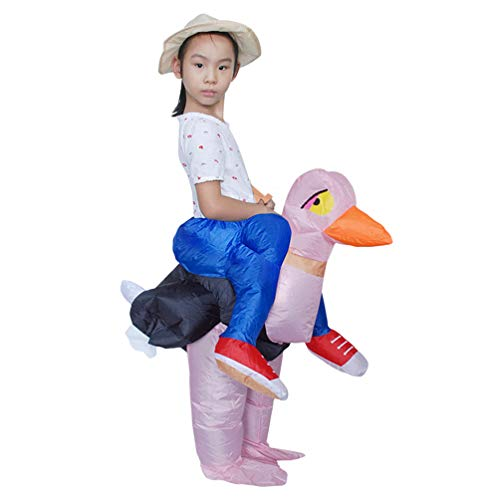 Teens-Inflatable-Costume-Halloween-Carnival-Funny-Cosplay-Toy-Riding-Ostrich-29-39-Height-0-0