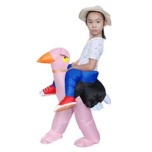 Teens-Inflatable-Costume-Halloween-Carnival-Funny-Cosplay-Toy-Riding-Ostrich-29-39-Height-0