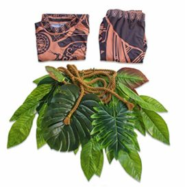 Tribal-Tattoo-T-ShirtPants-Halloween-Clothing-Sets-Adult-Mens-Women-Cosplay-Costume-0-2