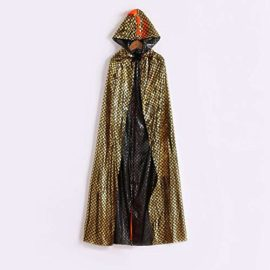 Tunic-Hooded-Robe-Cloak-Dinosaur-Fancy-Dress-Halloween-Masquerade-Cosplay-Costume-Cape-0-0
