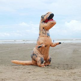 Unisex-Adult-Blow-up-T-Rex-Dinosaur-Inflatable-Halloween-Cosplay-Costume-Outfit-Fancy-Dress-0-2