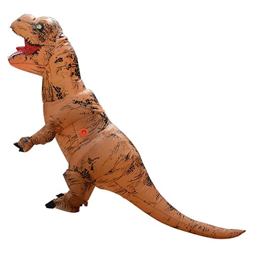 Unisex-Adult-T-Rex-World-Inflatable-Dinosaur-Costume-Blow-up-Fancy-Funny-Dress-0-0