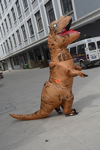 Unisex-Adult-T-Rex-World-Inflatable-Dinosaur-Costume-Blow-up-Fancy-Funny-Dress-0-1