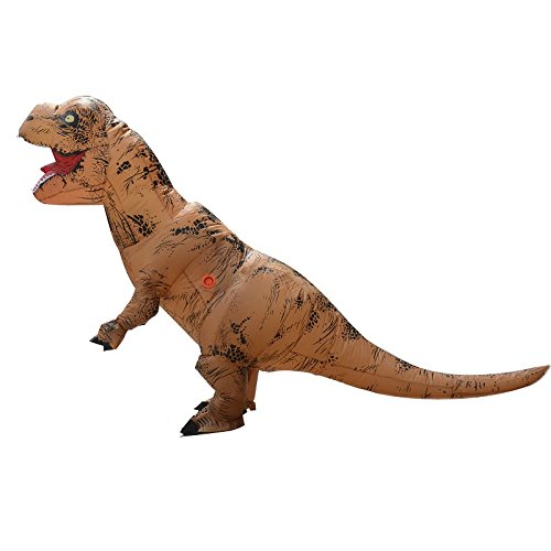 Unisex-Adult-T-Rex-World-Inflatable-Dinosaur-Costume-Blow-up-Fancy-Funny-Dress-0-2
