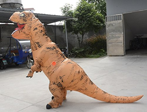 Unisex-Adult-T-Rex-World-Inflatable-Dinosaur-Costume-Blow-up-Fancy-Funny-Dress-0-4