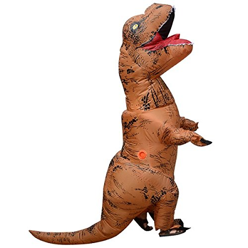 Unisex-Adult-T-Rex-World-Inflatable-Dinosaur-Costume-Blow-up-Fancy-Funny-Dress-0-5