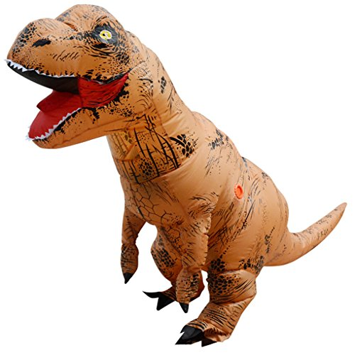 Unisex-Adult-T-Rex-World-Inflatable-Dinosaur-Costume-Blow-up-Fancy-Funny-Dress-0