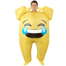 Unisex-Adults-Emoji-Inflatable-Costume-Halloween-Blow-up-Fancy-Dress-0