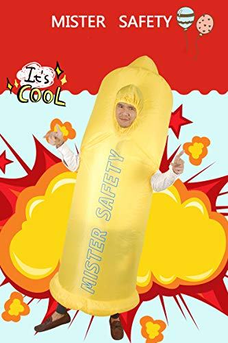 Unisex-Adults-Inflatable-Condom-Costume-Halloween-Blow-up-Fancy-Dress-0-4