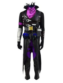 VOSTE-Halloween-Hot-Game-Cosplay-Costume-PU-Outfit-Full-Set-0