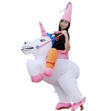 Vantina-Inflatable-Unicorn-Rider-Costume-Adult-Child-Halloween-Costumes-Blow-Up-Horse-Costume-0