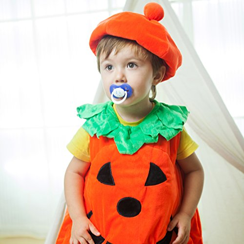 Wewill-Halloween-Orange-Pumpkin-Patch-Cutie-Unisex-Costume-Set-for-Party-Children-Clothing-Fancy-Dress-Up-3-6year-0-0