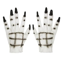 Women-Halloween-Costume-Props-Latex-Ghost-Gloves-Horror-Creepy-White-Devil-Hands-0
