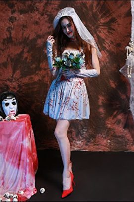 Womens-Dead-Zombie-Bloody-Costume-White-Ghostly-Dress-0-2