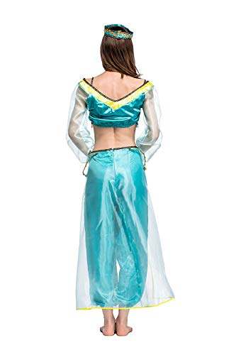 Womens-Halloween-Magic-Lamp-Arab-Cosplay-Costume-Green-Game-Anime-Dress-Fancy-Role-Up-0-2