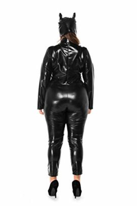 Womens-Halloween-Night-Club-Masquerade-Black-Catwoman-Jumpsuit-Costume-PU-Plus-Size-Set-0-0