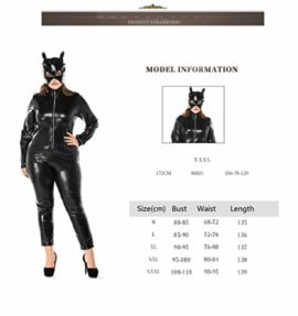 Womens-Halloween-Night-Club-Masquerade-Black-Catwoman-Jumpsuit-Costume-PU-Plus-Size-Set-0-4